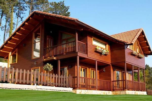 casa de madeira pre fabricada - Casas de Madeira