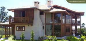 mansão de madeira 300x145 - mansão de madeira
