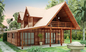 modelo casa de madeira 300x180 - modelo casa de madeira