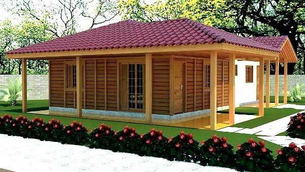 projeto casa de madeira - Casas de Madeira