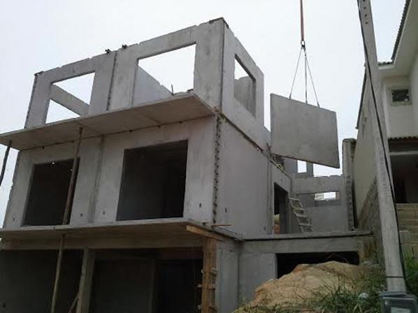construção casa concreto - Casas de Concreto