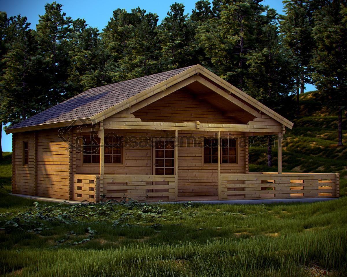 Ame international houten huizen houten chalets wooden - Casas de madera ...