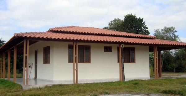 casa de alvenaria pre fabricada - Modelos de Casas Low Cost - Casas mais baratas