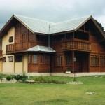 casa fabricada madeira 150x150 - Os melhores modelos de casas pré fabricadas