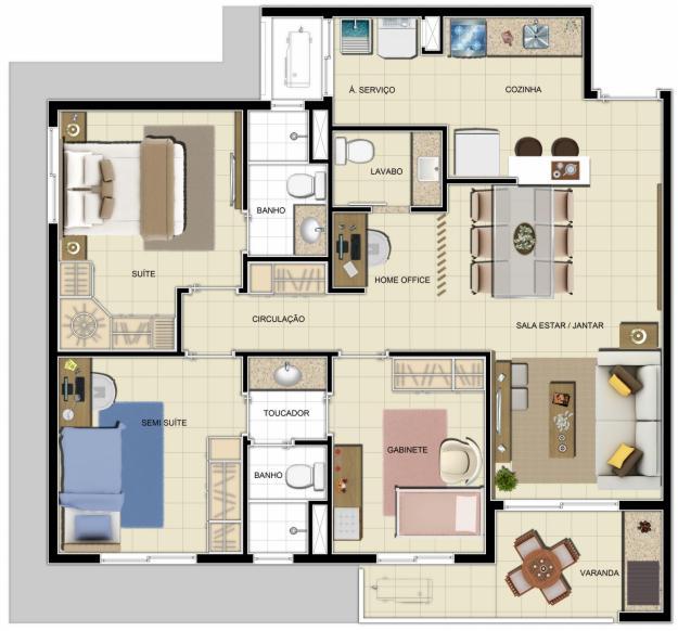casa pré fabricada projeto - Projetos de casas pré fabricadas