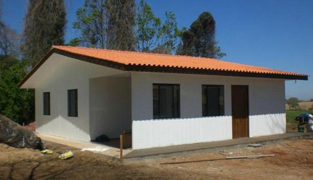 exemplo casa em PVC - Tudo sobre Casas em PVC Pré Fabricadas