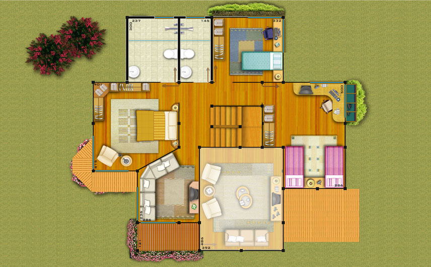 pre casas projeto - Projetos de casas pré fabricadas