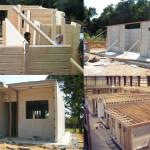 construir casas pre fabricadas 150x150 - Projetos de casas pré fabricadas