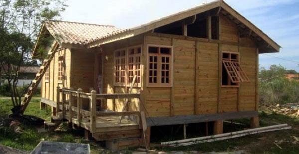 construir casa madeira - Quanto tempo demora a construir casa pré-fabricada