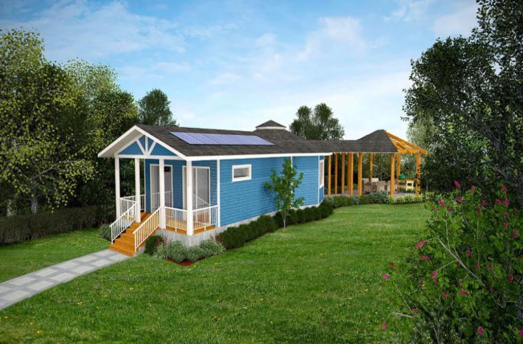 mini deltec - Conheça A Casa Pré-Fabricada Que Produz Sua Própria Energia