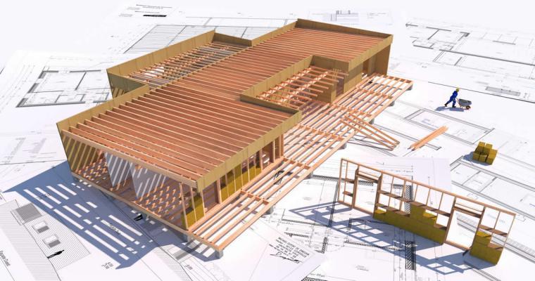 mini plantas e projetos - Onde comprar Casas de Madeira Pré-Fabricadas