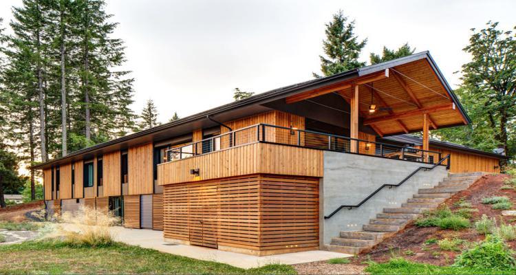 casa pre facricada madeira 1107547 - Casa de madeira pré-fabricada vale a pena?