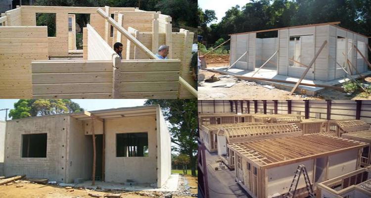 construir casas pre fabricadas - Construa você mesmo sua casa pré-fabricada. É mais barato!