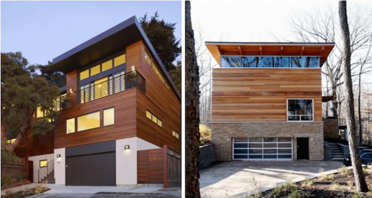 fachadas de casa 2019 confira estilos e tendencias 8 - Vale a pena ter uma casa de madeira em 2019?